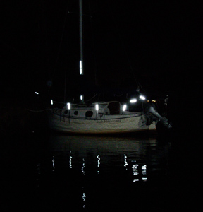 solas reflective sailboat